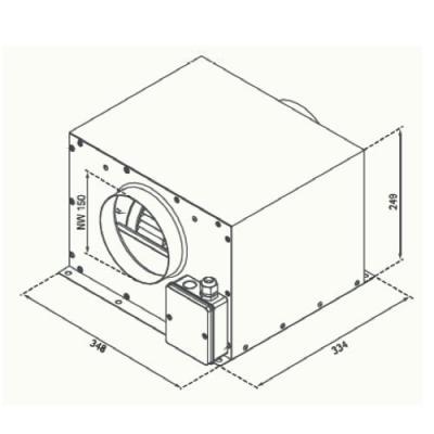 silverline zkm 800 externer motor zwischenkammergebl se online shop dunstabzugshaube zubeh r. Black Bedroom Furniture Sets. Home Design Ideas