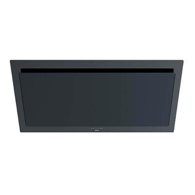 Novy vision 7848 kopffrei dunstabzug für umluft glas schwarz