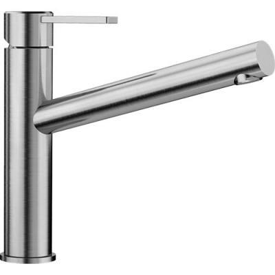 Blanco AMBIS Küchenarmatur Edelstahl gebürstet Hochdruck 523118 ...